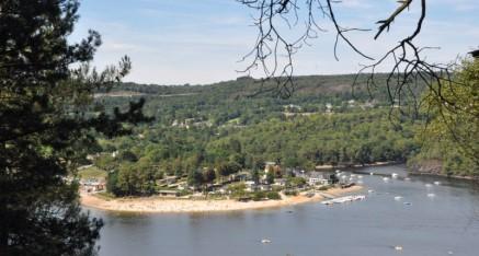 Les alentours du lac