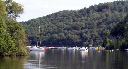 Le lac de Guerledan